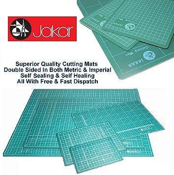Jakar Green Self Healing Cutting Mat A2 Double Sided Cm Mm Inch