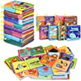 Baby Bath Books,Nontoxic Fabric Soft Baby Cloth Books,Early Education Toys,Waterproof Baby Books for Toddler, Infants Perfect