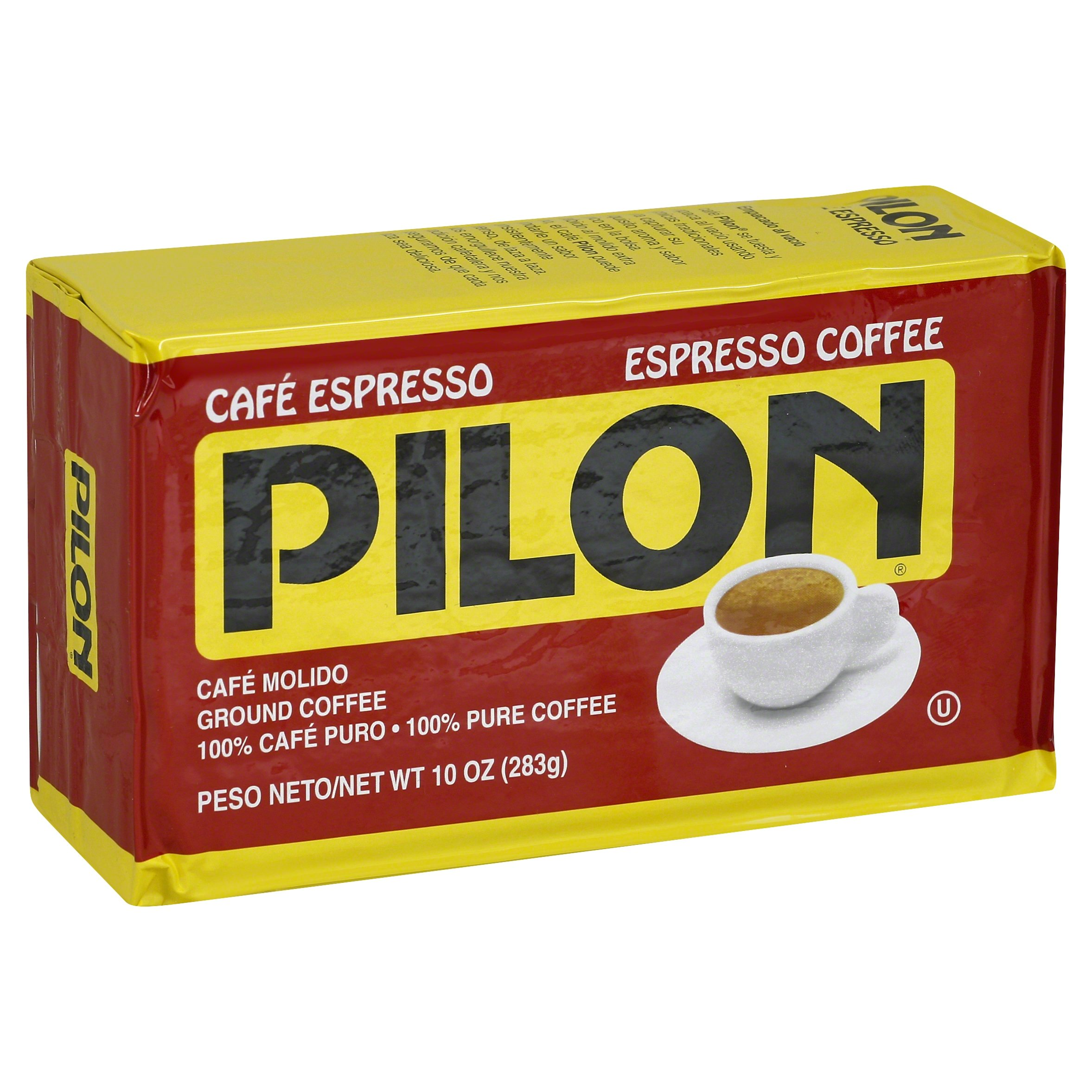 Pilon Espresso Coffee, 10 Ounce (Pack of 12)