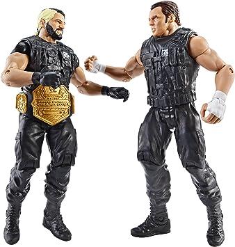 WWE Battle Pack Seth Rollins vs. Dean Ambrose Figura de acción, Paquete de 2: Amazon.es: Juguetes y juegos