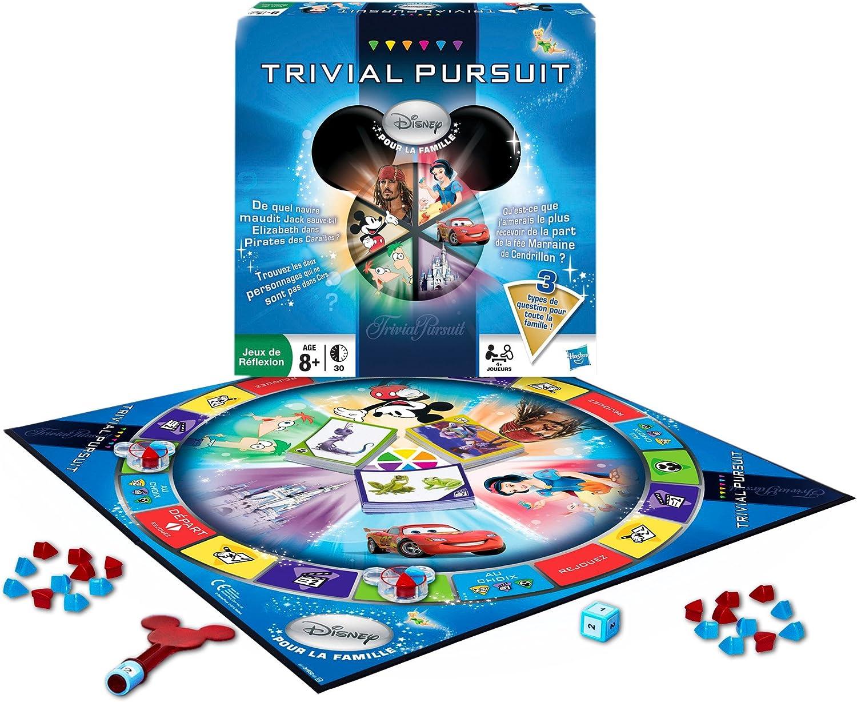 Hasbro - Juego de Preguntas Disney (versión en francés): Amazon.es: Juguetes y juegos