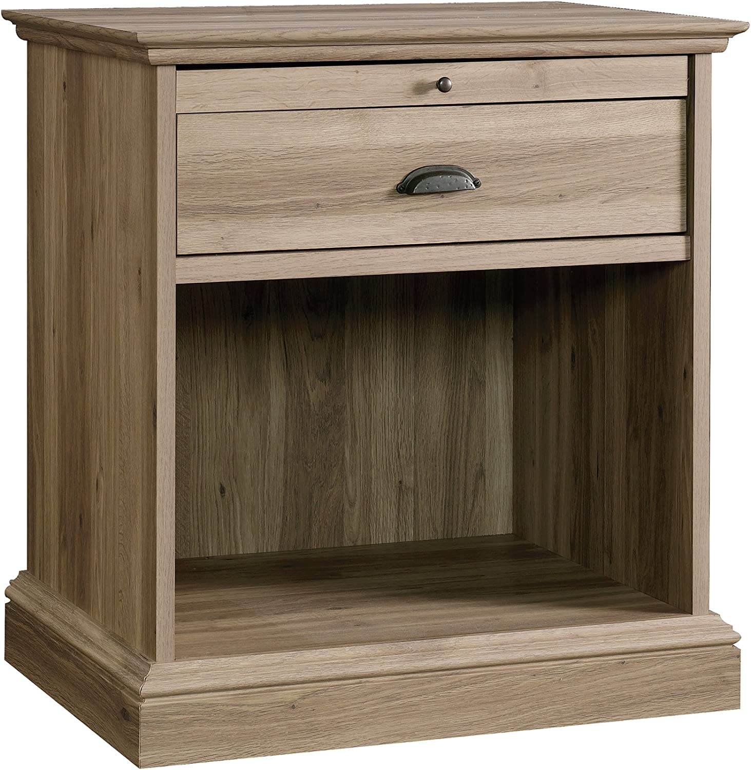 Sauder Barrister Lane Night Stand, Salt Oak finish