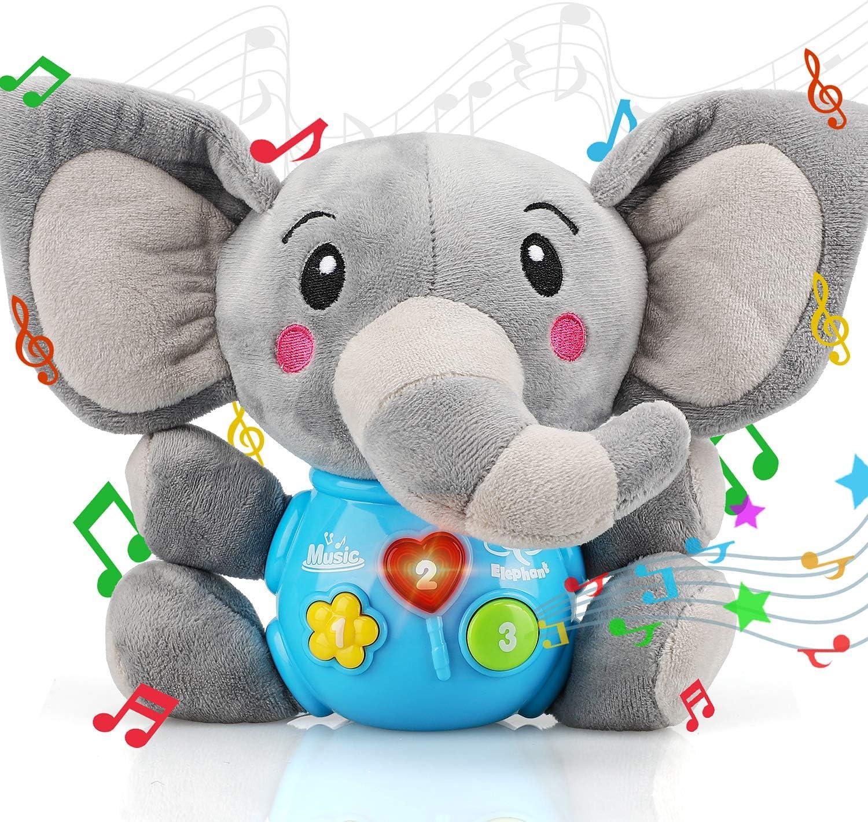 STEAM Life Plush Elephant Baby Toys