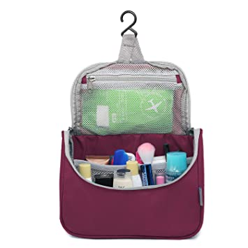 656f3719ba79 Amazon.com   Mountaintop Hanging Travel Toiletry Bag