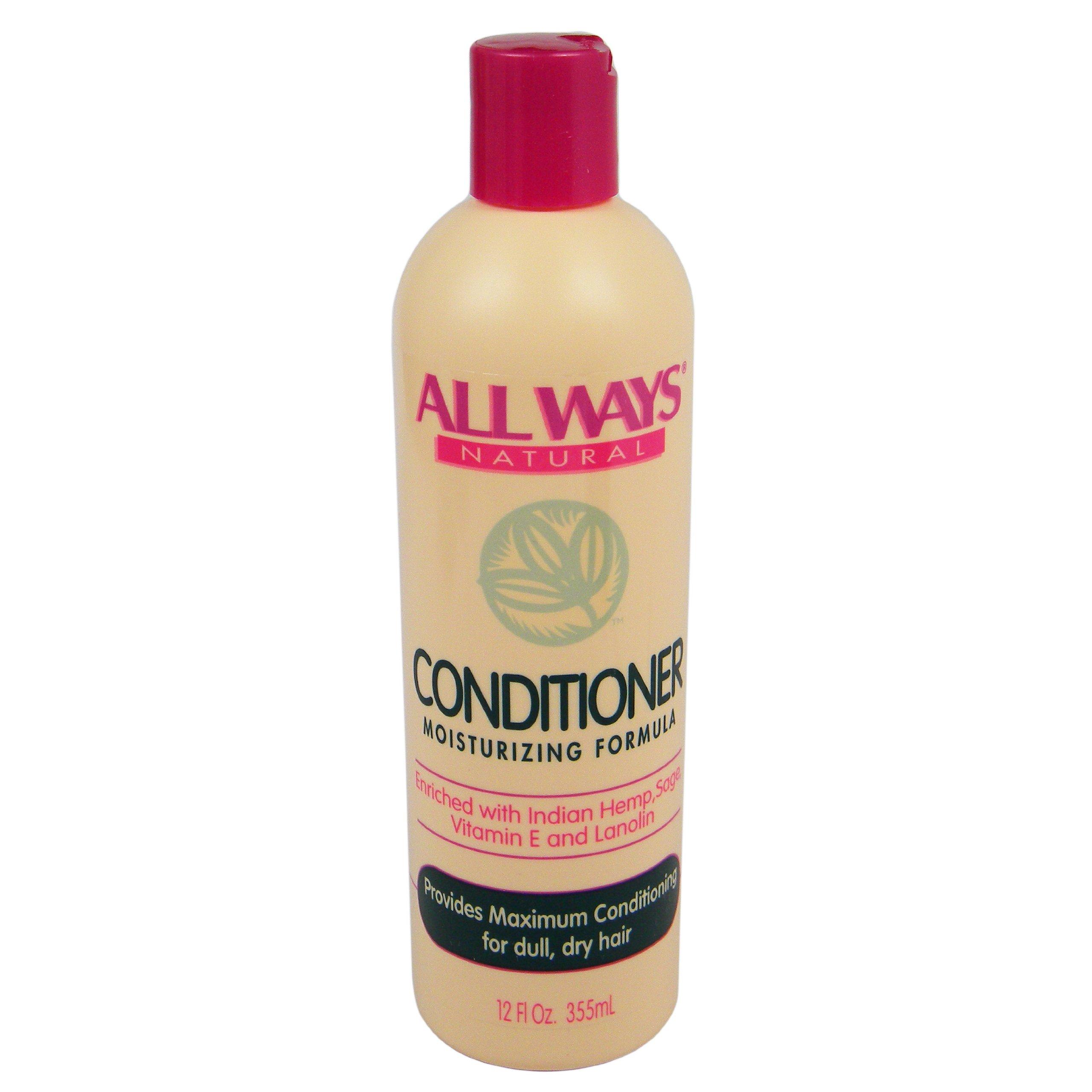 Allways Natural Conditioner Moisturizing Formula 12oz