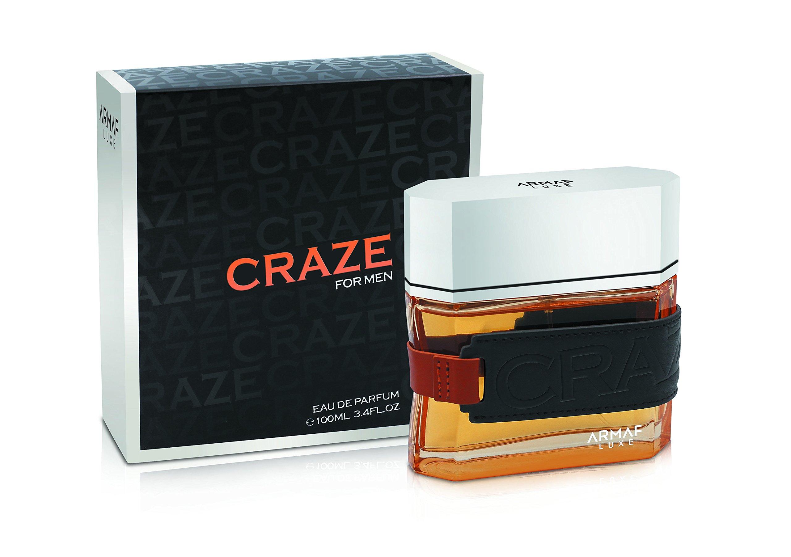 Armaf Craze Eau De Parfume Spray for Men 3.4 Ounces