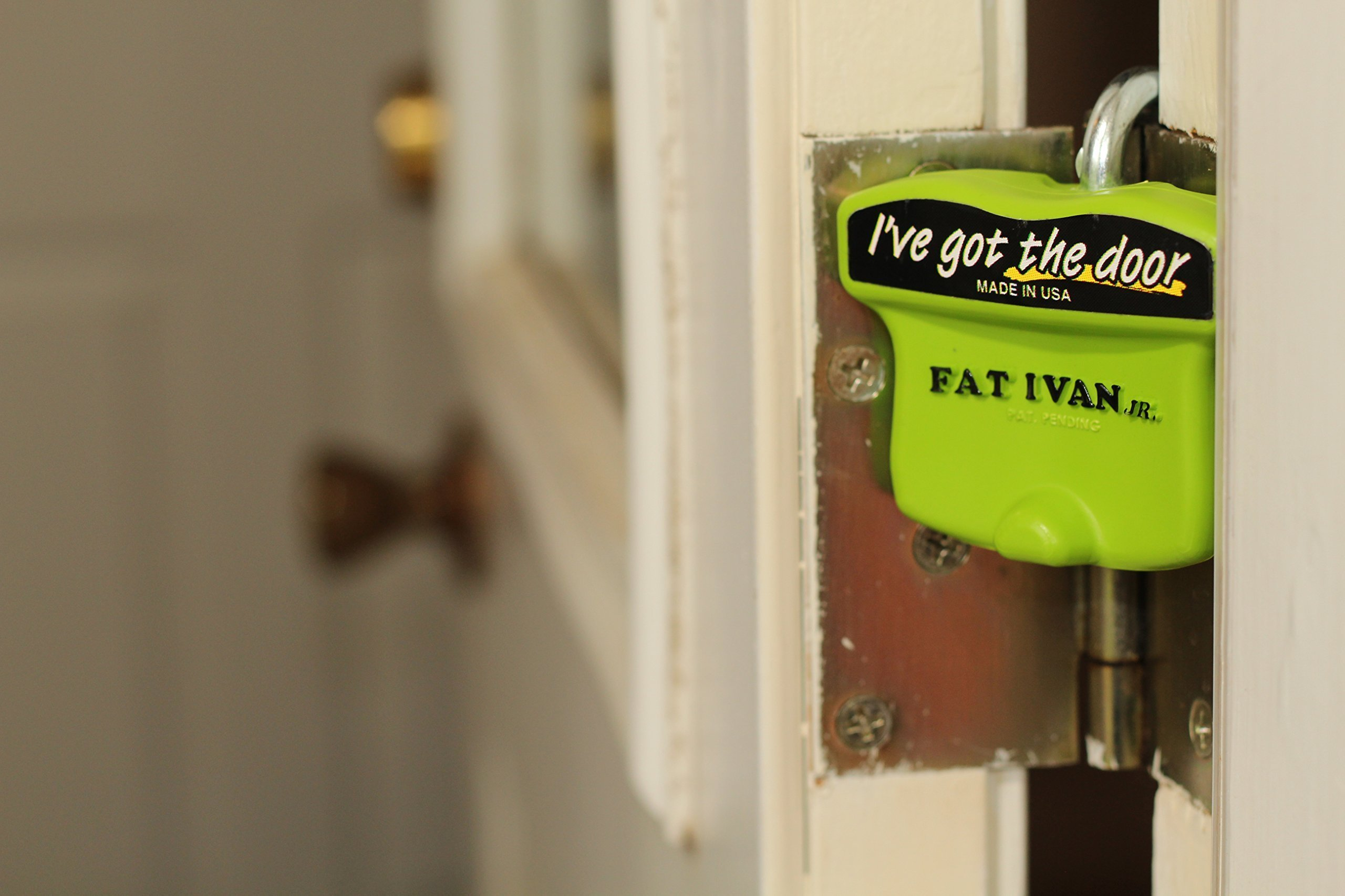 2 Fat Ivan Jr. Residential Door Stoppers!