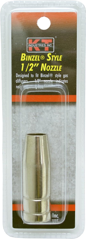 K-T Industries 2-1531 Binzel Nozzle 1//2 Each