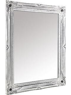 moycor dakota espejo de pared madera blanqueado xx cm