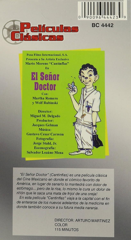 El Senor Doctor/El Extra [Alemania] [VHS]: Amazon.es: Cantinflas 2pak: Cine y Series TV