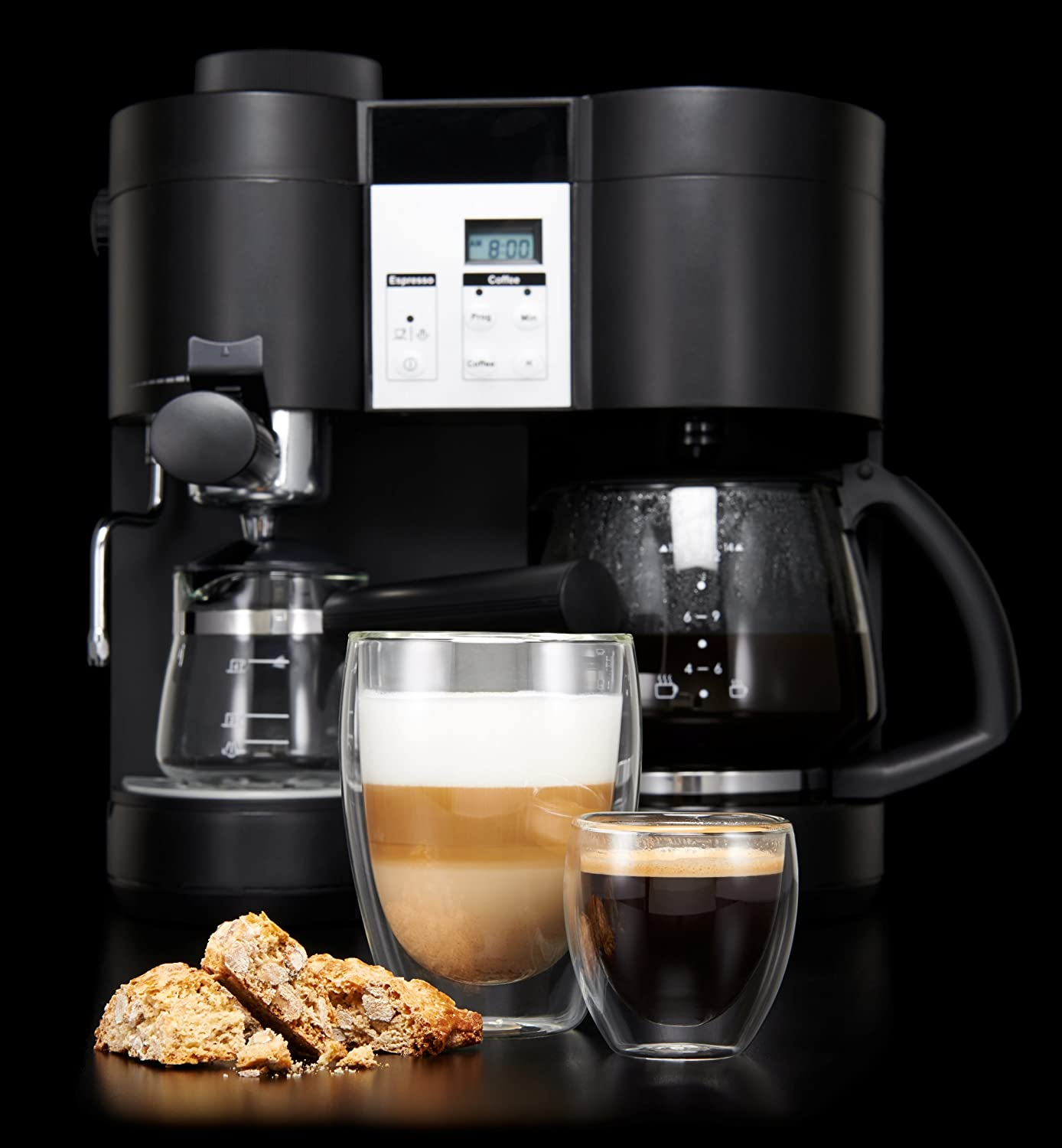 Best Espresso and Coffee Maker in 2020: Reviews & Buying Guide 11