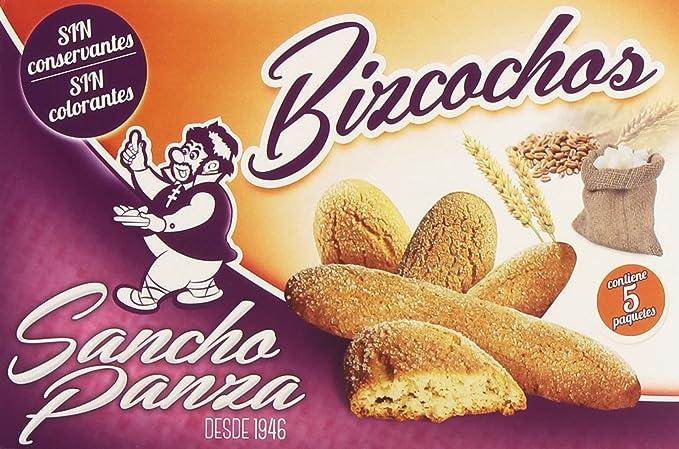 Sancho Panza - Bizcochos - Sin conservantes ni colorantes - 5 paquetes