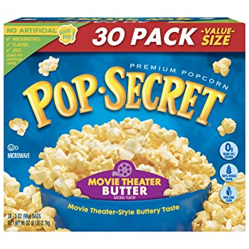 Pop Secret Popcorn Movie Theatre Butter