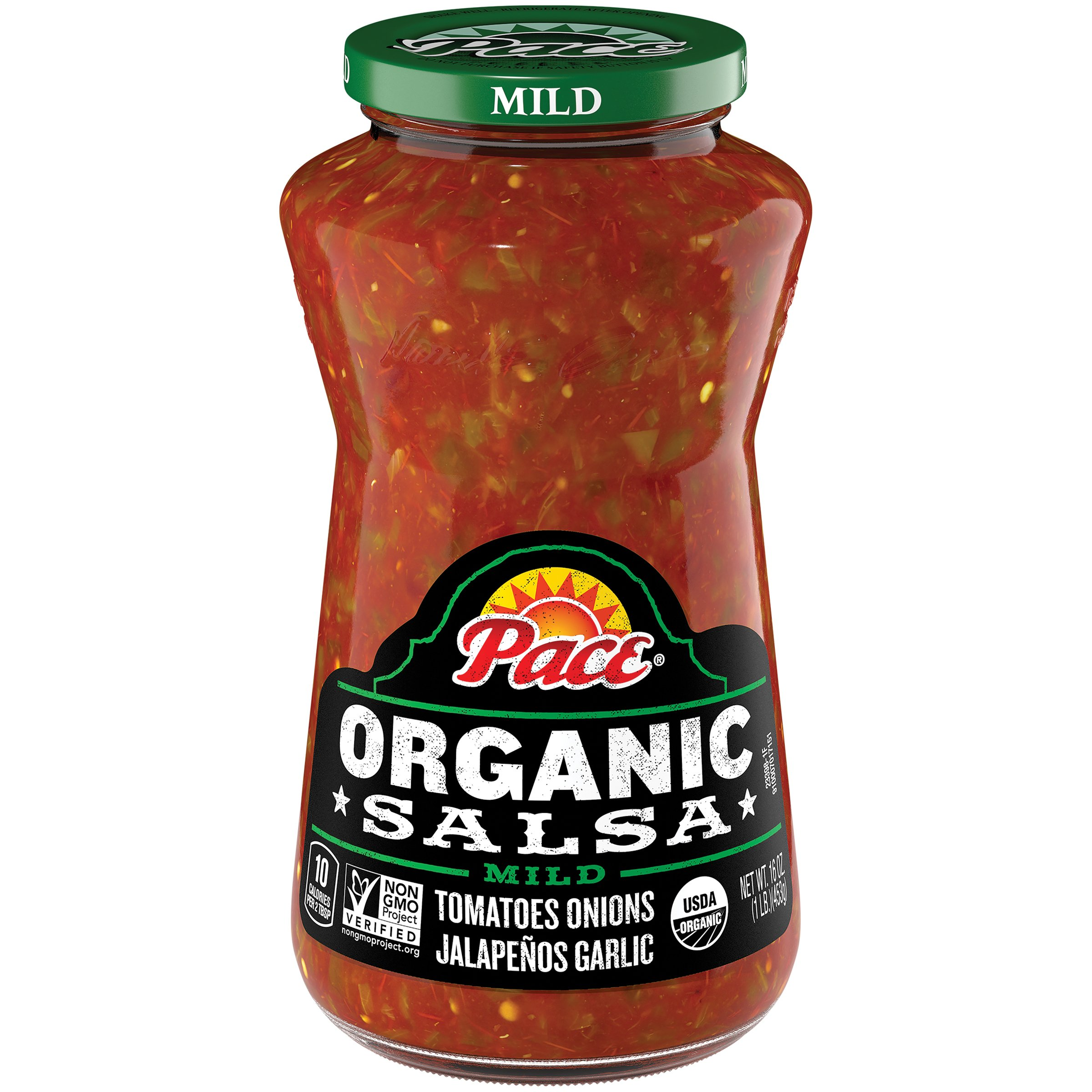 Pace Organic Salsa, Mild, 16 Ounce (Packaging May Vary) by Pace