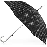 totes Auto Open Stick Umbrella with NeverWet,   Swiss Dots