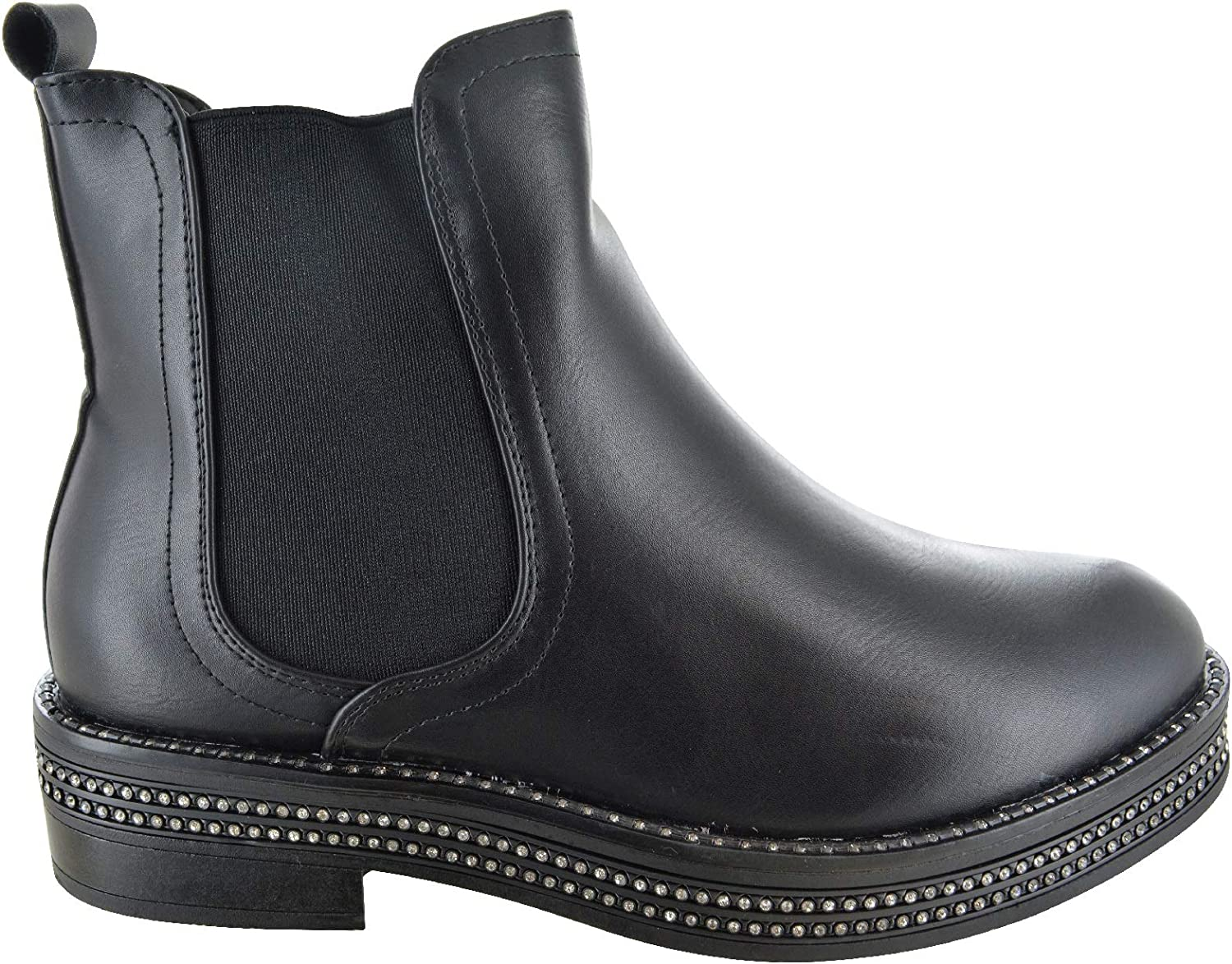 Womens Ladies Chelsea Ankle Boots