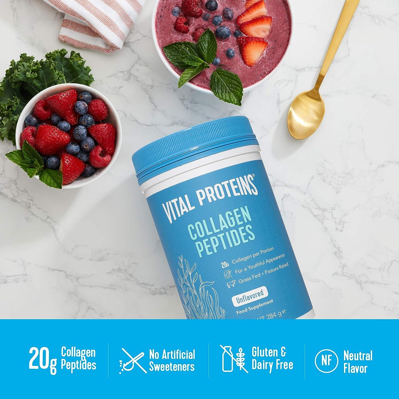 Vital Proteins Collagen Peptides, Unflavoured - 284g 400 g