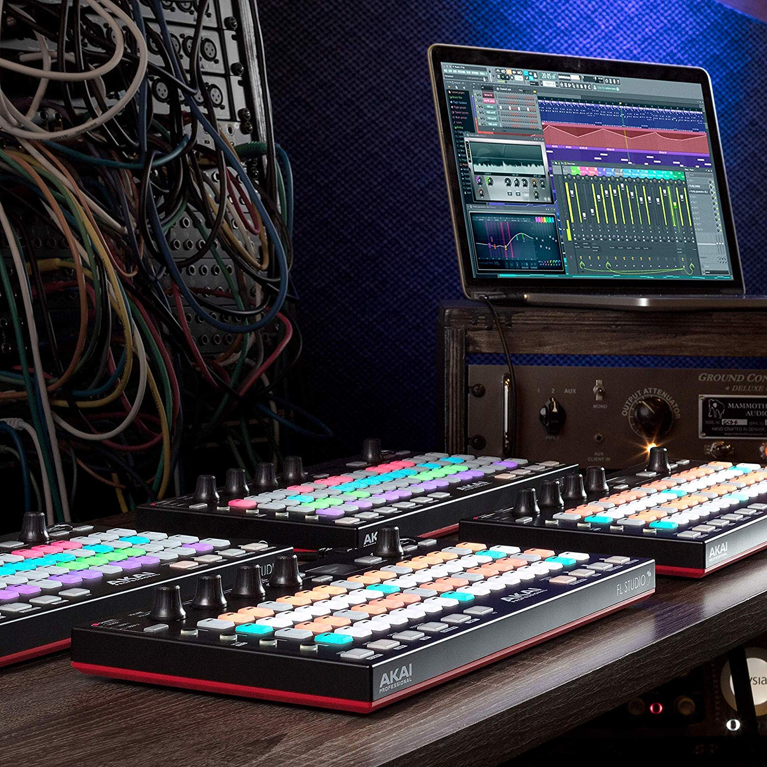 Akai Professional Fire | Performance Controller for FL Studio With 4 x 16 Velocity-Sensitive RGB Clip Matrix, OLED Display and FL Studio Fruity Fire Edition Included by Akai Professional (Image #6)