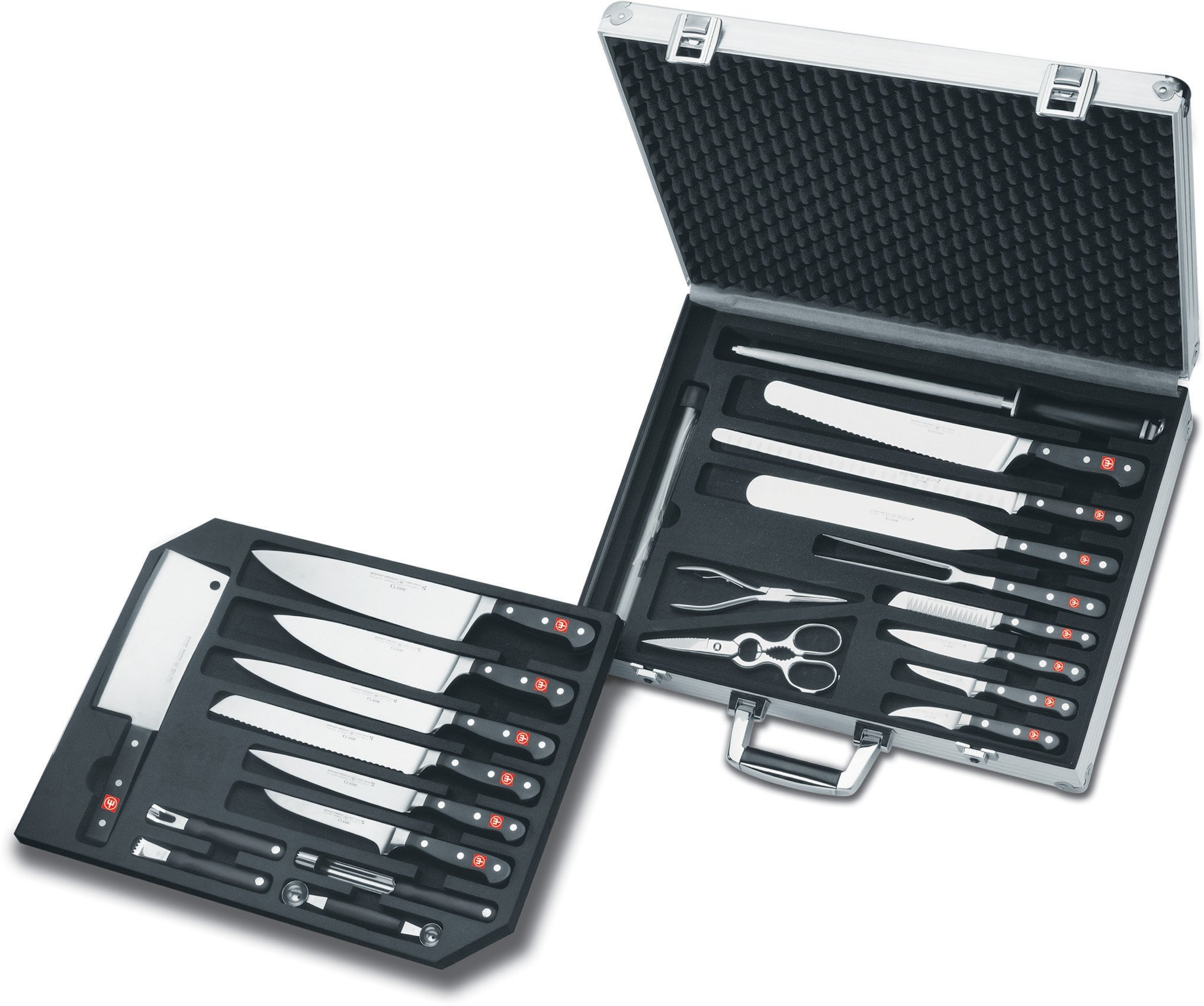 Wusthof Classic Extreme Chef's 25-Piece Attach Set