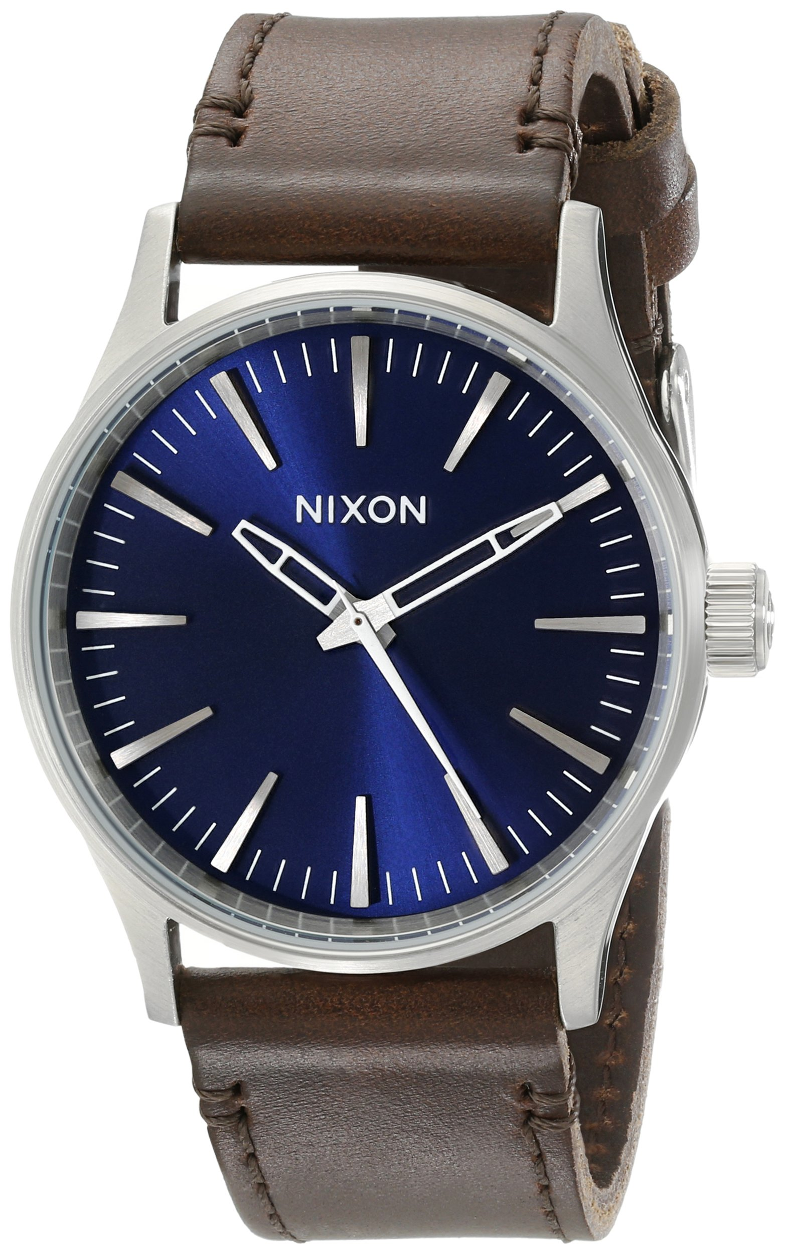Nixon Men's A3771524 Sentry 38 Leather Watch