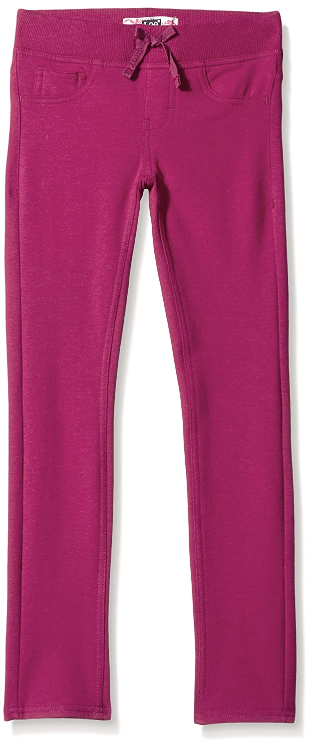 LEE Girls' Knit Waist Skinny Pull on Pant