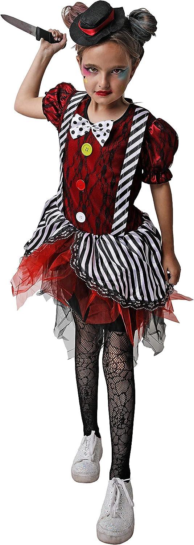 Costumizate! Disfraz de Payasa Loca para niños Talla 3 o 4 años ...