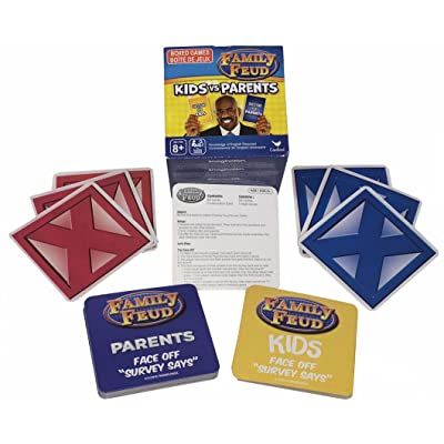 Family Feud - Kids vs Parents - Boxed Card Game: Toys & Games