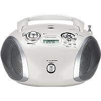 Grundig GRB 2000 USB Numérique 3W Argent, Blanc Radio CD - radios CD (Numérique, FM, Lecteur, CD-DA,CD-R,CD-RW, 3 W, MP3,WMA)