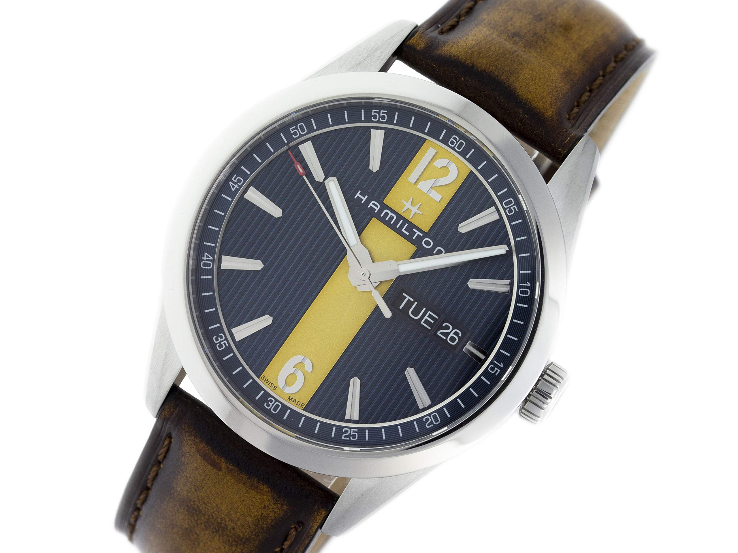 Hamilton Broadway Quartz Male Watch H43311541 (Certified Pre-Owned)