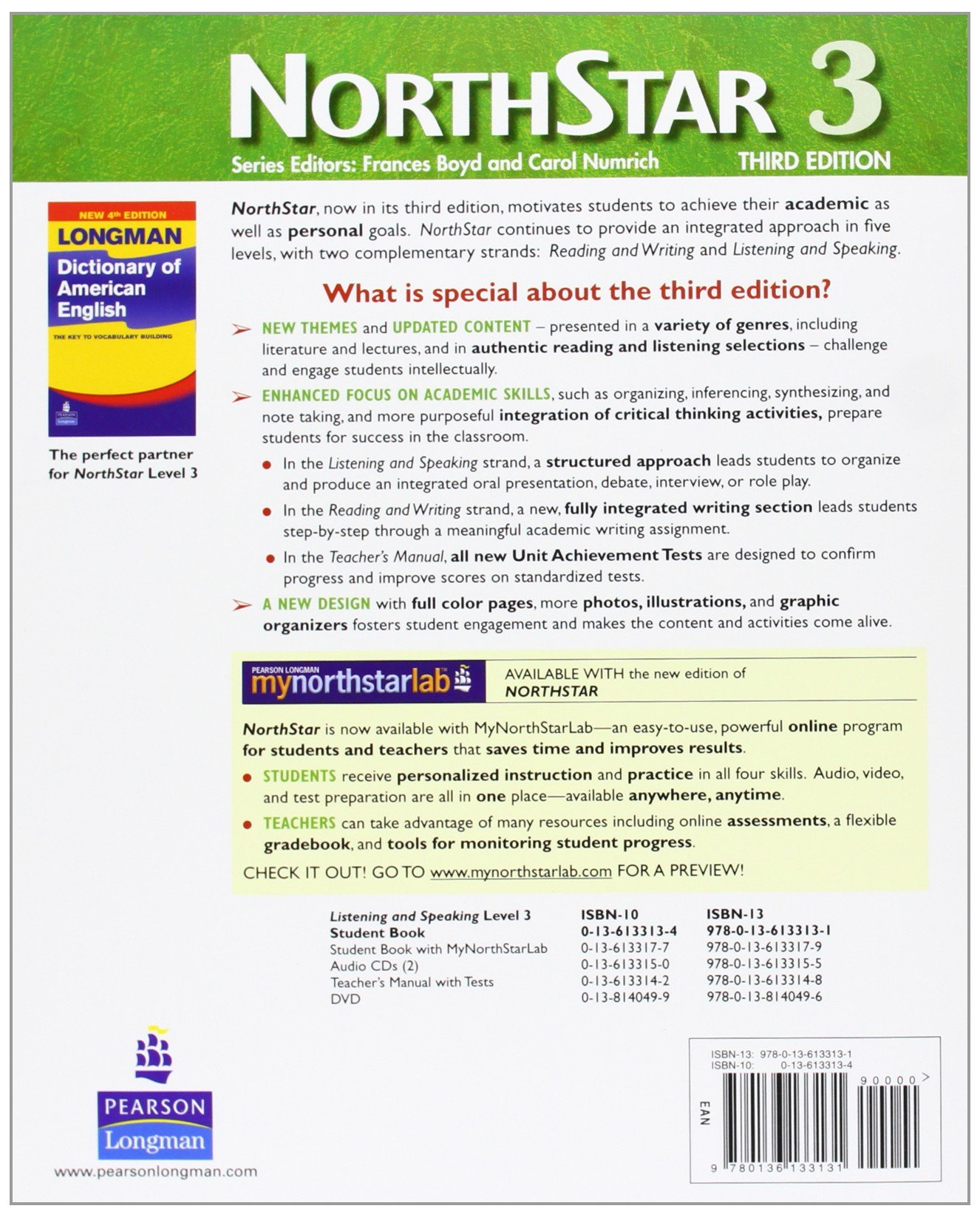 NorthStar, Listening and Speaking 3 (Student Book alone): Student Book  Level 3 (Go for English): Amazon.co.uk: Helen Solorzano, Jennifer P.L.  Schmidt: ...