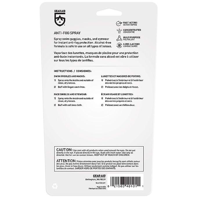Amazon.com   Gear Aid Anti-Fog Spray 126b2d8d2ee43
