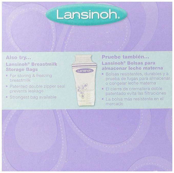 Lansinoh leche materna de botellas de 4 PK.: Amazon.es: Bebé