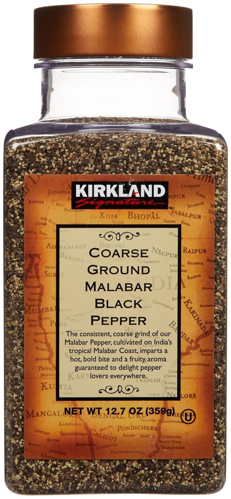 Kirkland Coarse Malabar Pepper-12.7 oz
