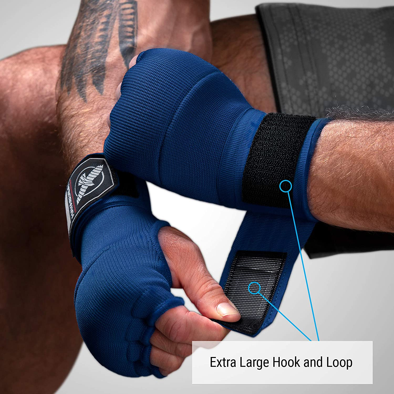 Kickboxing MMA Hayabusa Bandes de Boxe en Gel Rapide pour Gants de Boxe Muay Thai