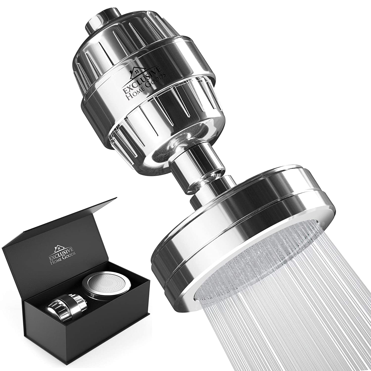 1. Exclusive Home Goods Luxury Shower Filter