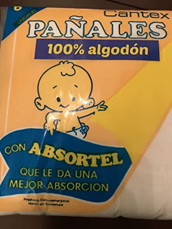 100% USA Cotton Cloth Baby Diapers / Burpee Cloths. Panales de algodon para ninos