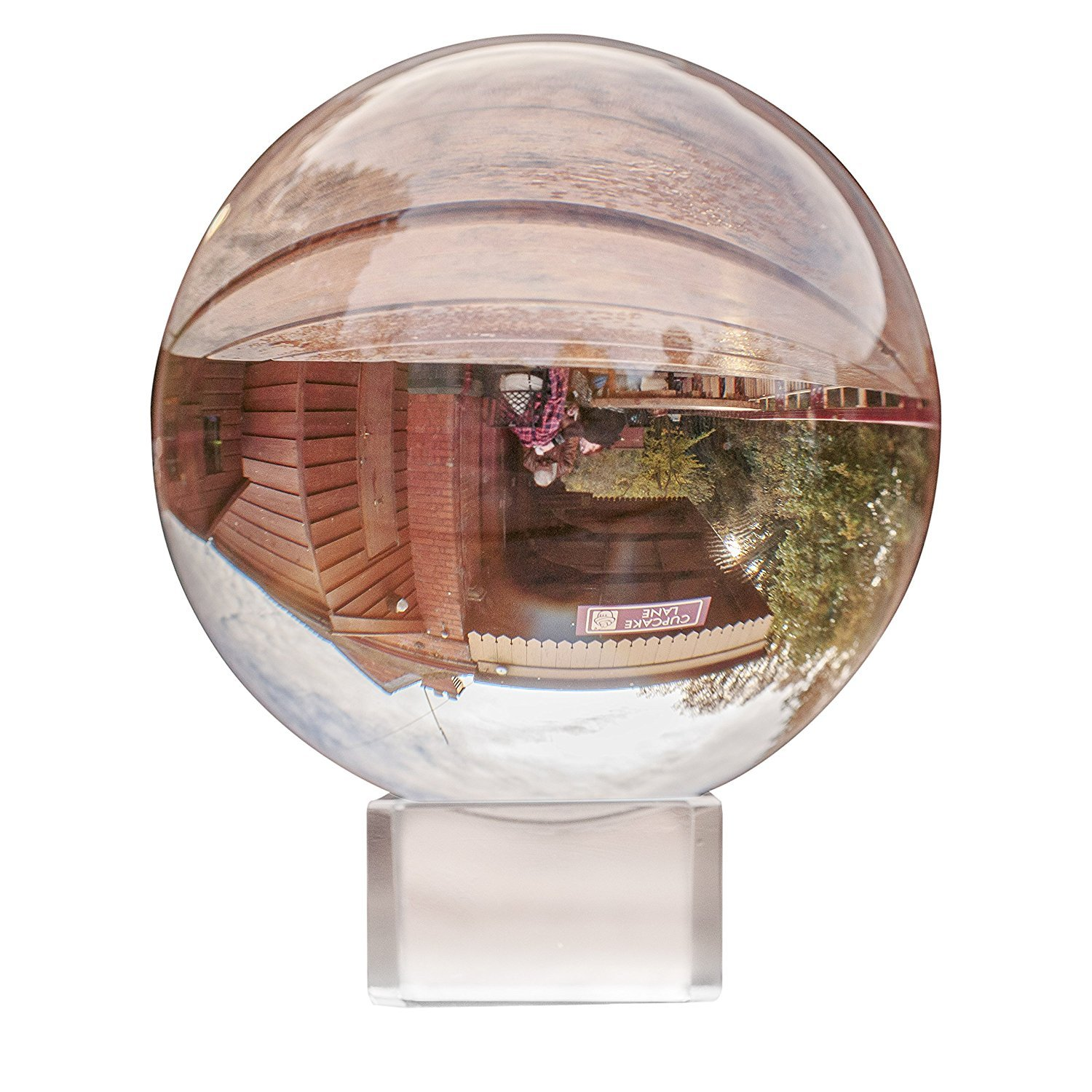 Crystal Ball - Clear Crystal Ball 80MM with Stand and Box - K9 ...