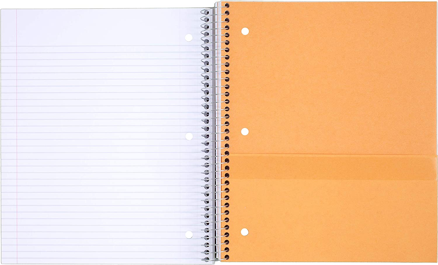 School Purple 100 Sheets Wired 38744 1 Subject 11 x 8-1//2 College Ruled Paper Five Star Spiral Notebook