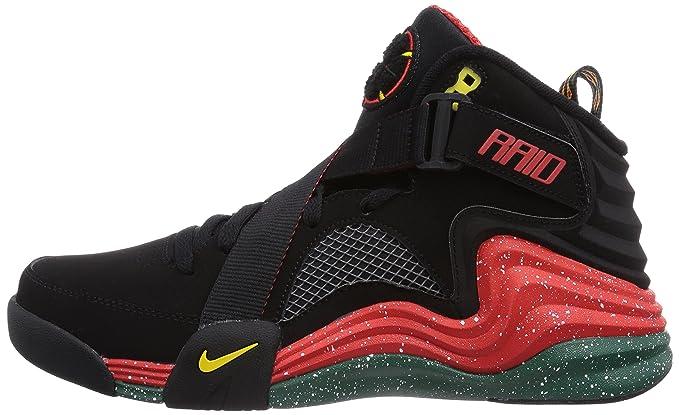 04f7bd612b1 Amazon.com  Nike Lunar Raid Men US 10.5 Black Basketball Shoe  Everything  Else