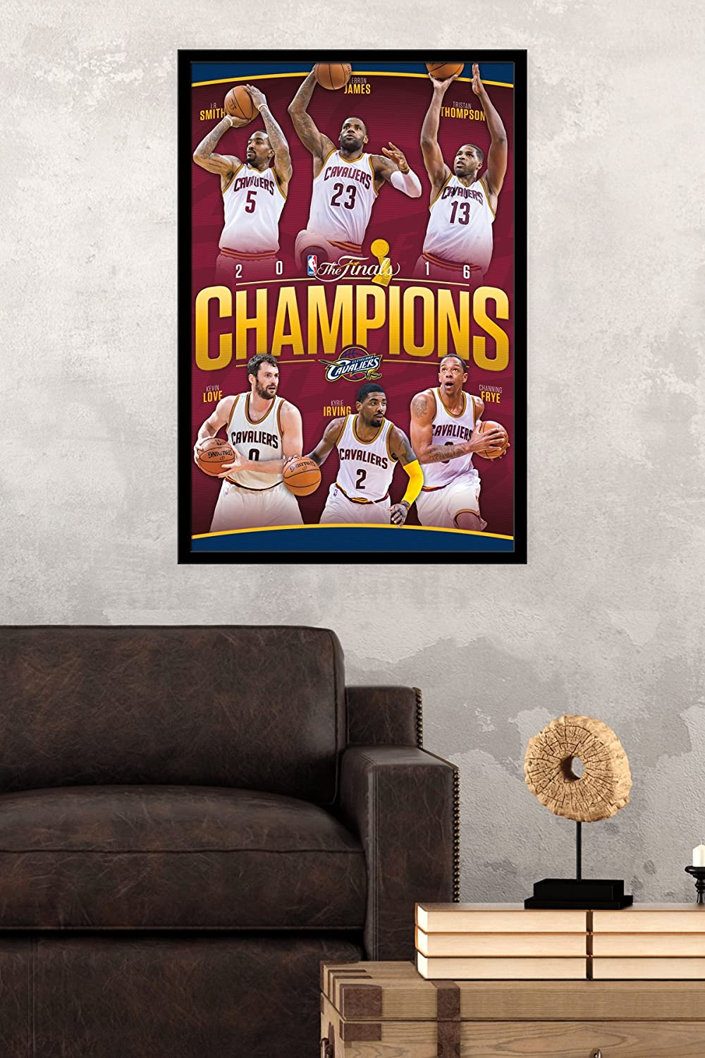 Amazon trends international 2016 nba finals champions amazon trends international 2016 nba finals champions cleveland cavaliers collectors edition wall poster 24 x 36 home kitchen amipublicfo Image collections