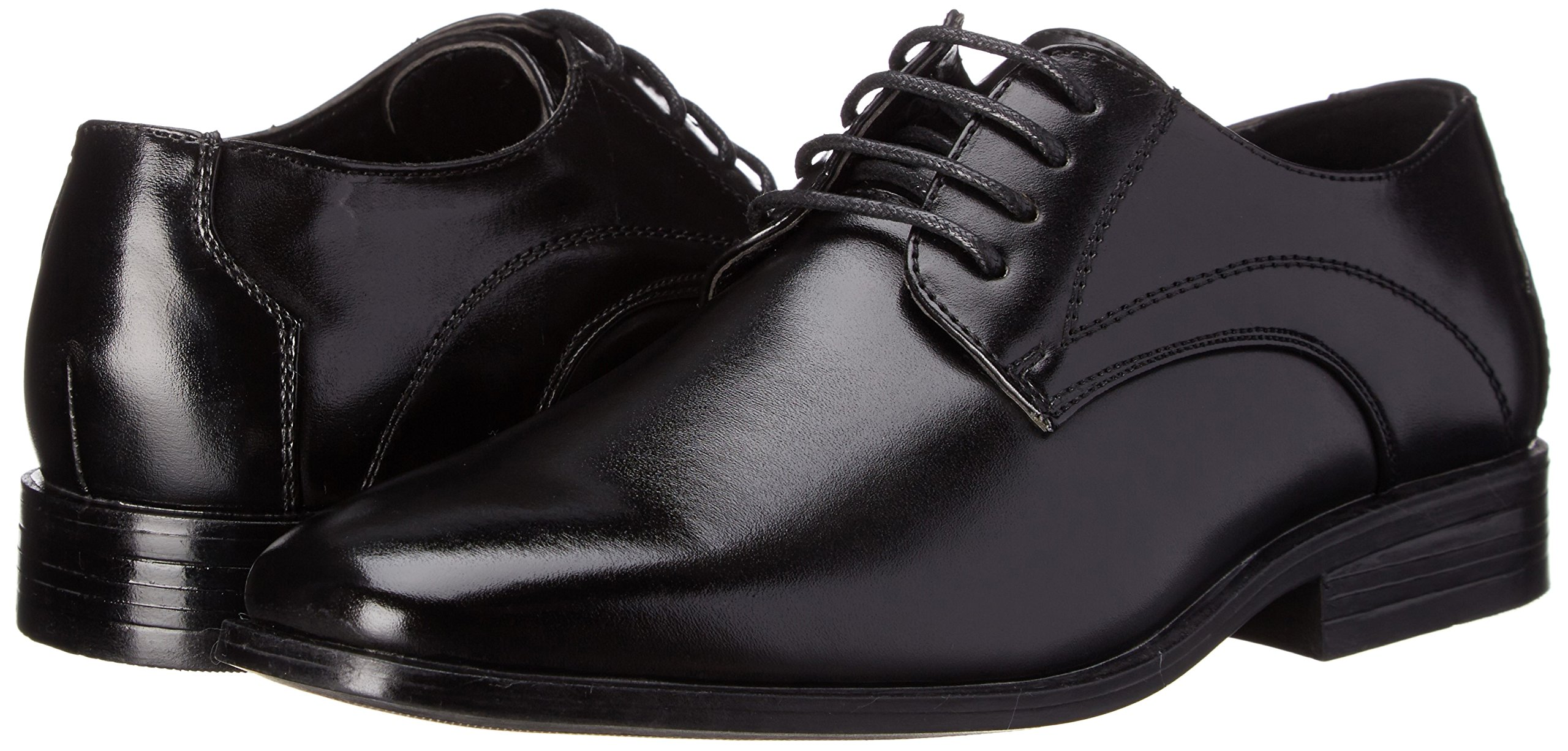 Stacy Adams Carmichael Plain Toe Lace-up Uniform Oxford Dress Shoe (Little Kid/Big Kid),Black,4 M US Big Kid by STACY ADAMS (Image #6)