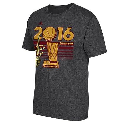 new product 6d33b 6a38c NBA Cleveland Cavaliers Men s 2016 Finals Champions Locker Room T-Shirt,  Gray, Small