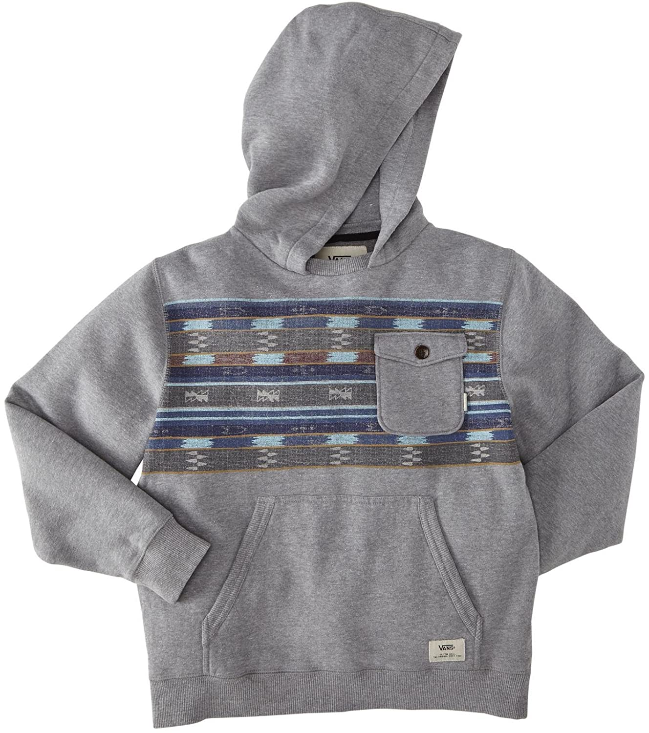 1a25e8675 Vans Big Boys' 40Th Parallel Hoodie (Kid) - Concrete Heather - X-Large:  Amazon.in: Clothing & Accessories