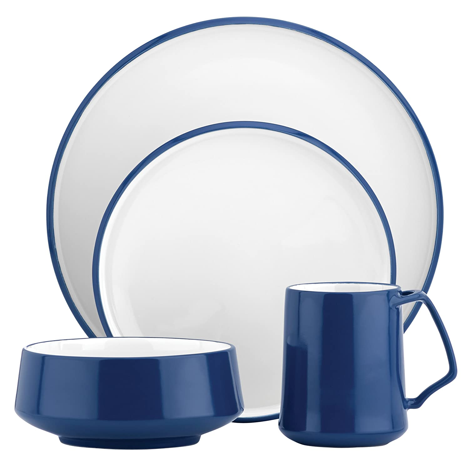 Amazon.com DANSK Kobenstyle 4-Piece Place Setting Teal Dinnerware Sets Kitchen \u0026 Dining  sc 1 st  Amazon.com & Amazon.com: DANSK Kobenstyle 4-Piece Place Setting Teal: Dinnerware ...