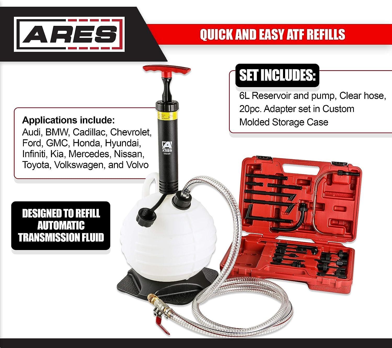 Fluid Evacuators Automotive ATF Refill Kit ARES 12026 6L Manual ...
