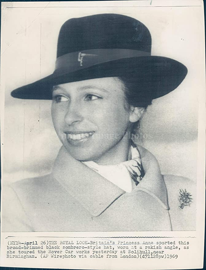 15a672f2d1 Amazon.com: Vintage Photos 1969 Photo Britain Princess Anne Black ...