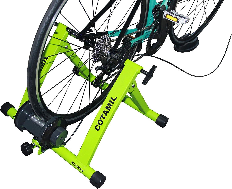 Kounga COTAMIL Rodillo de Ciclismo, Verde: Amazon.es: Deportes y ...