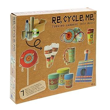 Imaginarium Re Cycle Me Music - Kit de reciclaje para crear instrumentos musicales, unisex: Amazon.es: Bebé