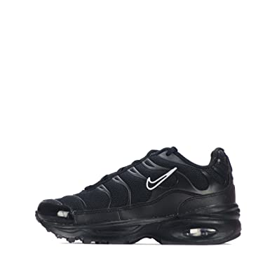 23276bf85a NIKE Air Max Plus TN1 Tuned Children Kids Shoes (UK 11.5, Black/Black