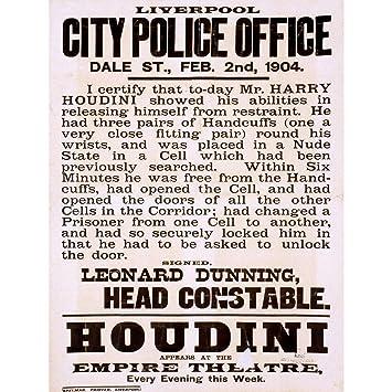 Amazon com: Wee Blue Coo Prints Houdini 7 The Magician Files